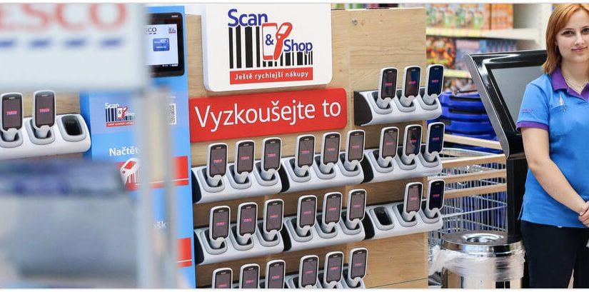 Tesco Scan&Shop – tipy a triky