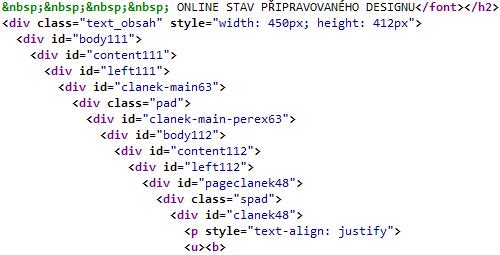 Příklad velmi špatného použití ID. Zdroj: pratele.okamzite.eu