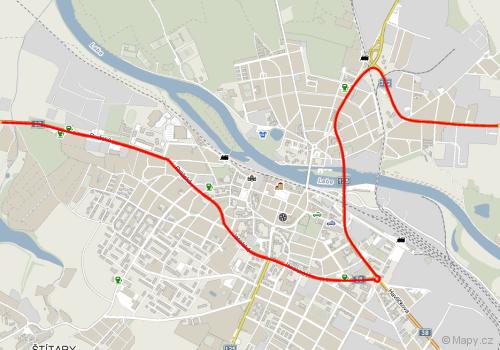 Spojení od Prahy na Pardubice v Kolíně není právě intuitivní