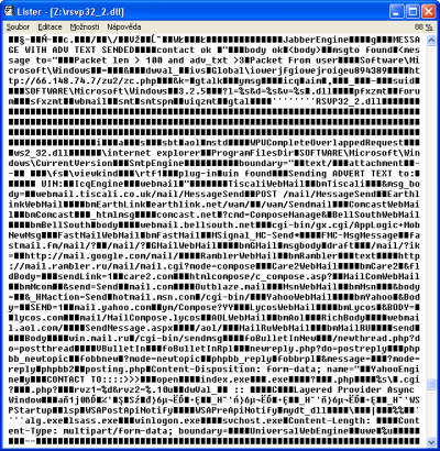 Primitivní pohled do binárního souboru